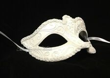 White Masquerade Mask Venetian Wedding Costume Prom Party Masquerade Ball Mask