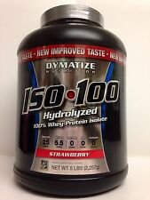 DYMATIZE NUTRITION ISO100 WHEY PROTEIN ISOLATE 5LB 2.3KG