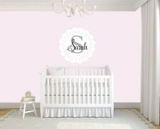Nursery Wall Deca,Wall decal for baby girl,wall decal,vinyl sticker,Monogram