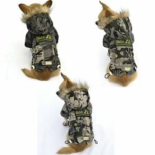*NEW* CHIHUAHUA/SMALL DOG/PUPPY/ CAMOUFLAGE WINTER COAT - XS, S, M, L