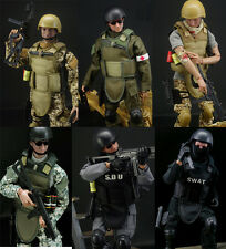 "12""Special Forces Action Figure 1/6scale military-action Free Chair+Paper"
