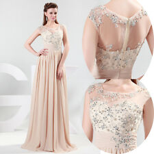 Quinceanera Wedding Bridal Bridesmaid Long Ball Gown Prom Party Evening Dresses