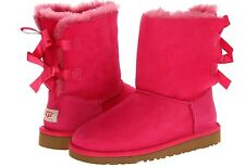UGG BIG KIDS BAILEY BOW (YOUTH) - CERISE