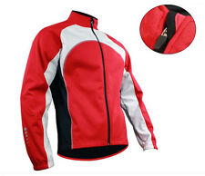 2013 Men's Red Cycling Fleece Thermal Winter Long Sleeve Jersey/Jacket M-2XL
