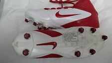 Nike Alpha Speed D Football Cleats Style 442245-161 White-Game Red