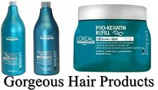 L'Oreal  Pro-Keratin Refill Shampoo 1500ml, Conditioner 750ml or Masque 500ml