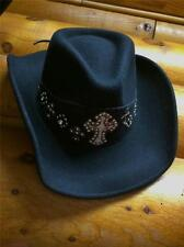 Ladies Western Felt Cowgirl Hat Montana West Cowboy Rodeo Country Girl