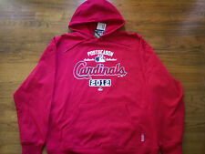 ST. LOUIS CARDINALS NEW MAJESTIC MLB AC PROPERTY THERMA BASE HOODED SWEATSHIRT