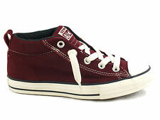 CONVERSE Chuck Taylor All Star Cab S sneakers PELLE BORDEAUX ROSSO MAROON bimbo