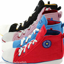 Mens/Womens/Kids Novelty Chuck Taylor Converze Boot Slippers Black/Red/Blue/Pink