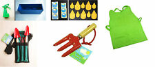 YOUNG GARDENERS KIT Children Garden Tools Wooden Metal Children's Activity