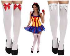 LADIES SEXY SNOW WHITE FAIRYTALE SNOW PRINCESS HEN PARTY FANCY DRESS COSTUME LOT
