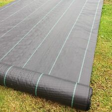 Yuzet 100g 1m wide weed control fabric ground cover membrane landscape mulch