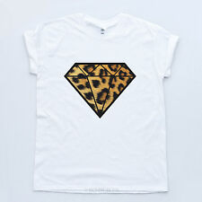 Diamond Leopard New Tee Bling Swag Wasted Dope Fresh Obey YMCMB Trill T shirt