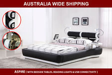 Brand New Modern Aspire Queen / King Size PU Leather Bed Frame * Free Pick Up*