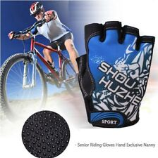 CLEARANCE New Cycling Half Finger Bicycle Gloves Antiskid Silicone Granules Palm