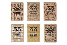 33 Bottles of Beer Tasting Note Book Notebook Wine Cheese Connoiseur Journal