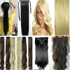 One Piece Real Hair Extensions 88