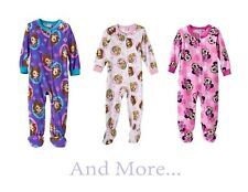 New Disney Minnie Mouse/Princess/Sofia Footed Pajamas Toddler Girls 2T 3T 4T 5T