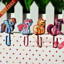4pcs My Little Pony Bookmarks for Book Page Holder,Paper clip,DIY Bookmark,Gift