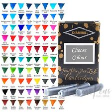 Diamine Ink Cartridges for fountain pens (Packs of 18) - All Colours Available