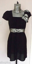 Ladies M Butterfly Size 10 12 Lace Trimmed  Party Dress Bnwt