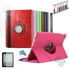 New 360 Rotating PU Leather Case For Apple iPad Air 5 5th Gen Folio Cover Stand
