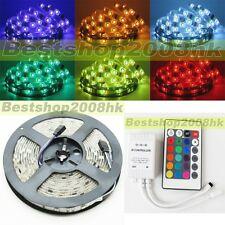 5050 RGB Waterproof 5M 150LEDS SMD Flexible LED Strip Christmas Car Light