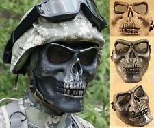 New Skull Airsoft Hunting War Game Costume Scary Full Face Protect Mask Facemask