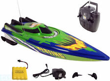 RC Radio Remote Control Racing Speed Boat TWIN ENGINED RECHARGEABLE - NEW MODEL