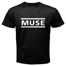 New MUSE Alternative Rock Band Logo Men's Black T-Shirt Size S to 3XL
