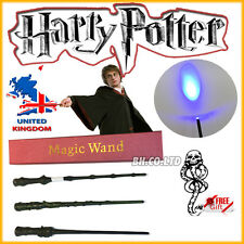 Harry Potter Hogwarts Wizard School HERMIONE DUMBLEDORE Magic LED Wand/Scarf/Tie