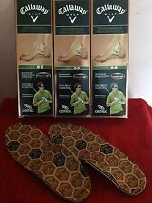 NEW Callaway Golf Aetrex Performance Golf Orthotics for Men - Choose Type/Size