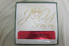 "Masterpiece Studios Holiday Collection Christmas Cards. 5 1/2"" x 8"". Box of 16."