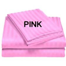 [ PINK STRIPE ] COM.BEDDING COLLECTION 800TC 100% EGYPTIAN COTTON @ ALL SIZES