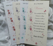 Personalised Birthday, Anniversary, Any Occasion Card Mum Daughter Sister Aunt