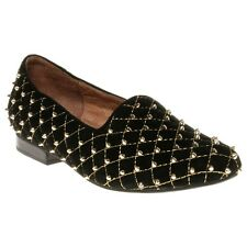 New Womens Jeffrey Campbell Black Elegant Synthetic Shoes Flats Slip On