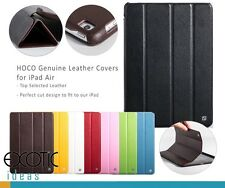 HOCO Genuine Real Leather Cases Smart Covers for iPad Air - Auto Sleep/Awake