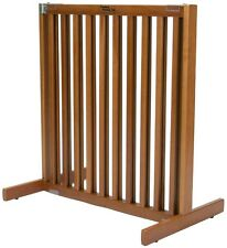 "Dynamic Accents 30"" Kensington Sliding Hardwood Dog Pet Gate Barrier Natural"