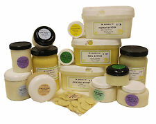 Premium Organic Butters 100% Pure Raw Cold Pressed 2oz up to 12 lb Free Shipping