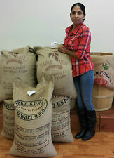 Kona Hawaiian Coffee Beans 100% Fresh Roasted Coffee Ground By Request 2 Pounds