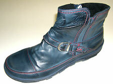 Miccos Women's Boots leather blue