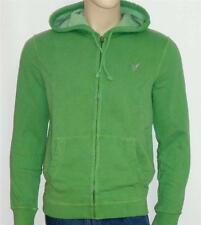 American Eagle Outfitters AEO Mens Muted Green Hoodie Sweatshirt Jacket New NWT