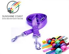 MULTI FUNCTIONAL DOG LEAD / LEASH  HIGHEST QUALITY STRONG 18 COLOURS
