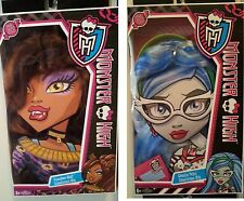 NEW MONSTER HIGH Freaky Fab Costume Wigs - Clawdeen Wolf or Ghoulia Yelps