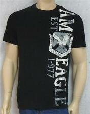 American Eagle Outfitters AEO 1-977 Mens Black Athletic Fit T-Shirt New NWT