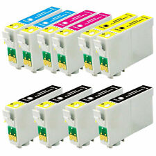 10 Compatible Ink Cartridges for Epson Printers - High Capacity