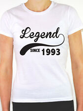LEGEND SINCE 1993 - Birth Year /Birthday Gift / Novelty Themed Women's T-Shirt