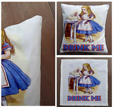 Alice in wonderland - Printed Cushion Fabric Panel Or Case or with Filling