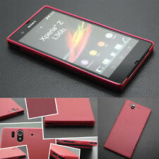 New 0.3mm Ultra-thin Back Plastic Matte Cover Case for SONY Xperia Z1 L36h